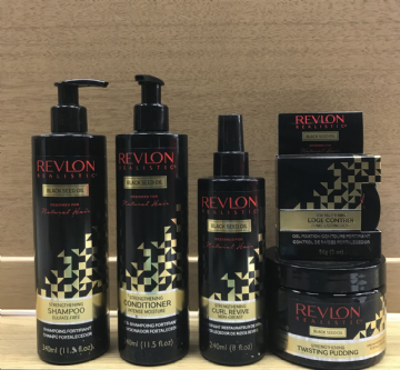 REVLON REALISTIC BLACK SEED OIL HAIR STRENGTHENING PRODUCTS